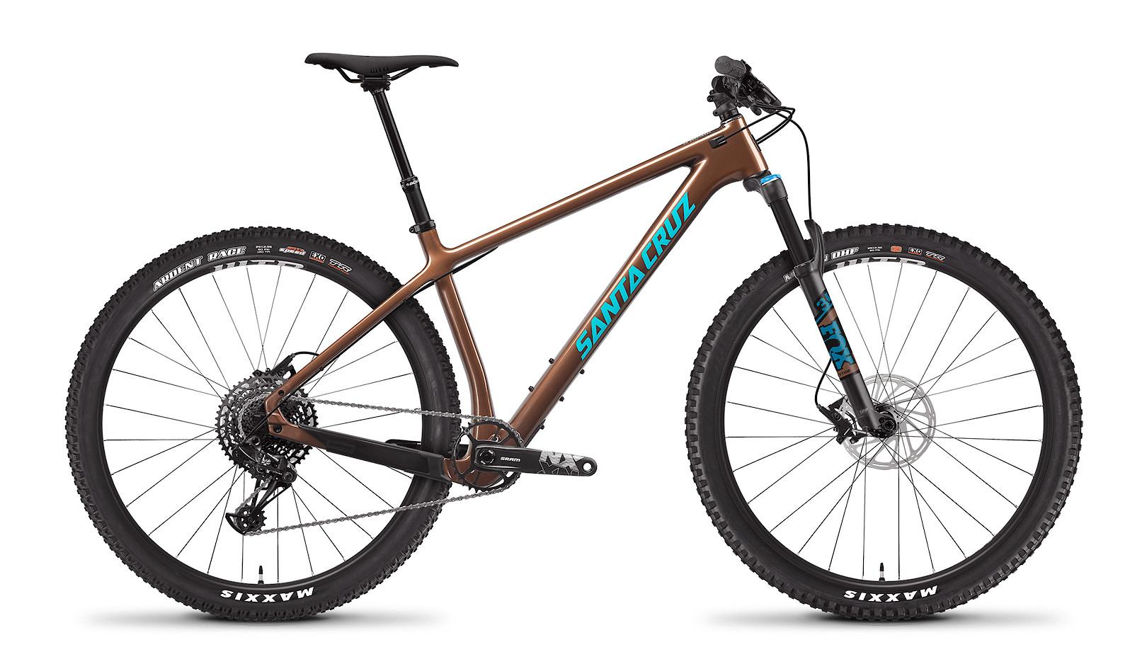 "2021 Santa Cruz Chameleon R Carbon C (Bronze and Blue, 29"")"