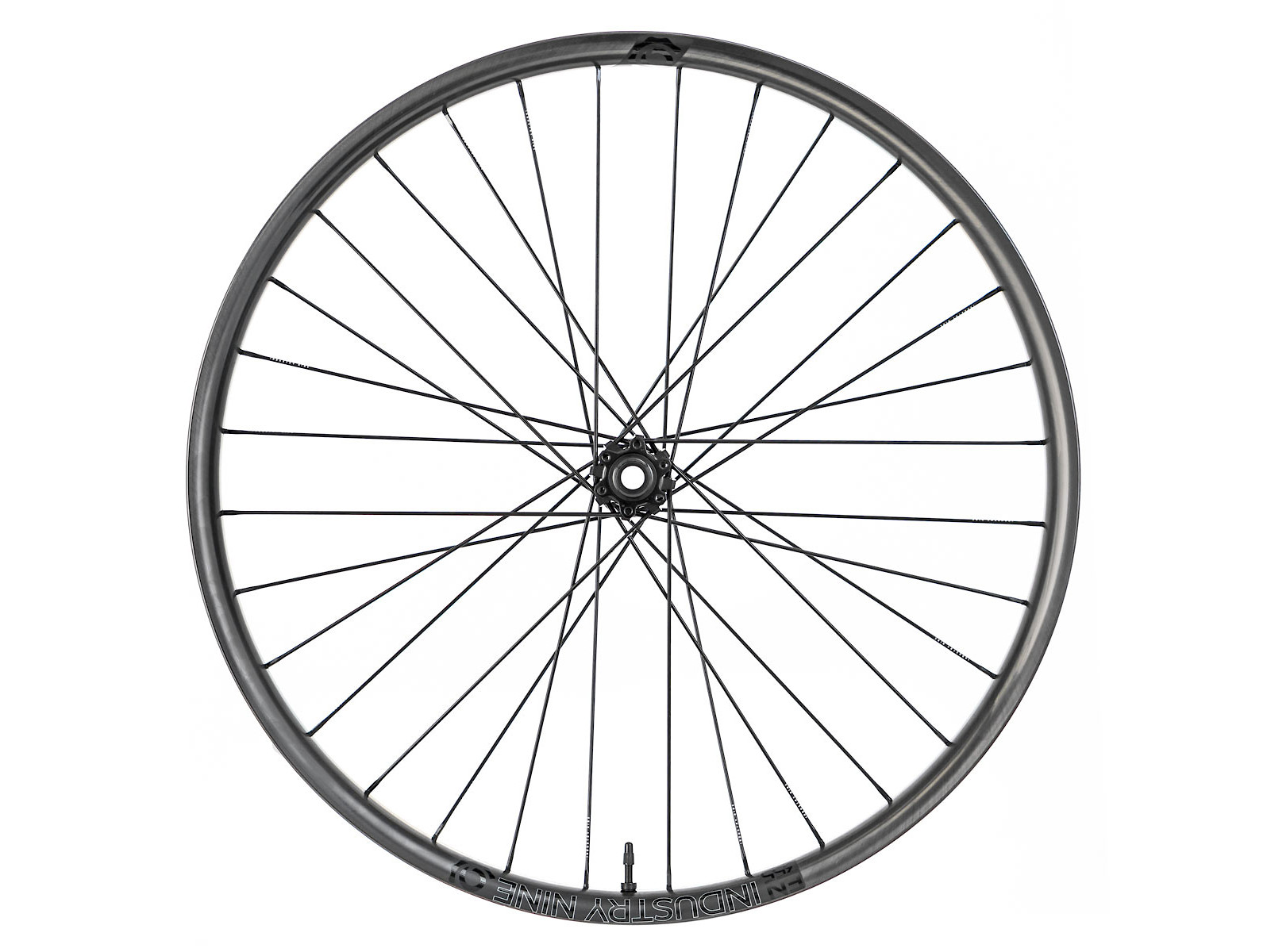 Industry Nine Enduro 355c Hydra Wheelset (stock Black, front)
