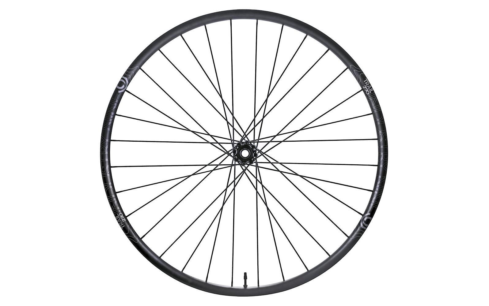 Industry Nine Trail 270 Hydra Wheelset (stock Black, front)