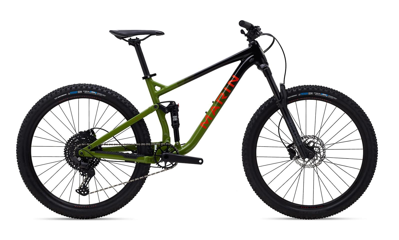 2021 Marin Hawk Hill 1 (Gloss Black/Green/Orange)