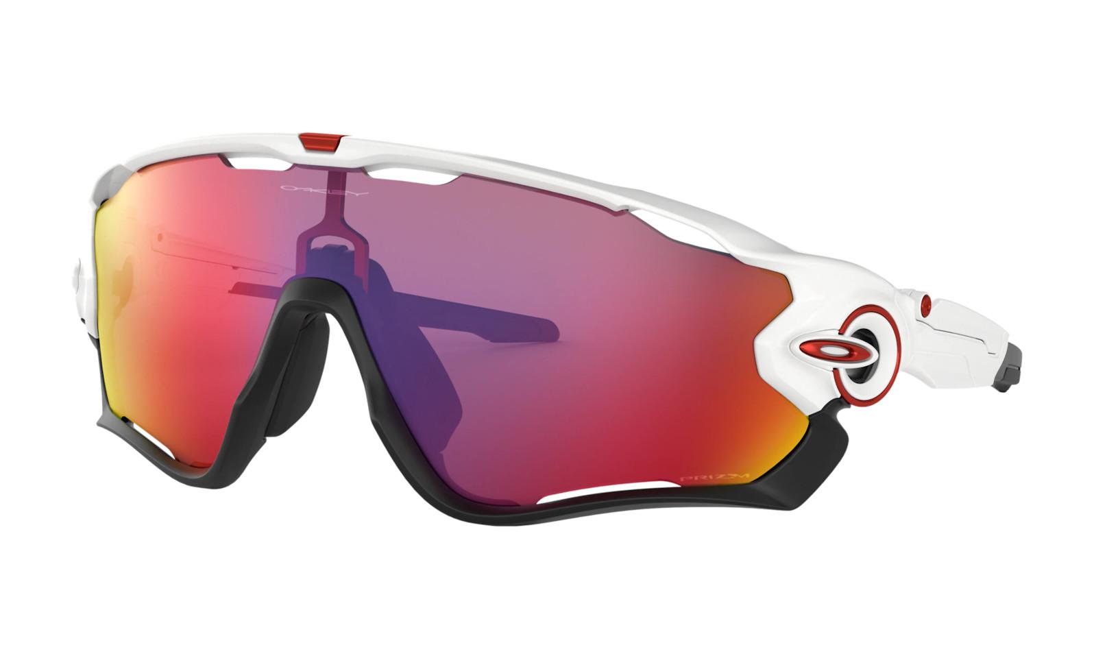 Oakley Jawbreaker - Polished White frames with Prizm Road lens