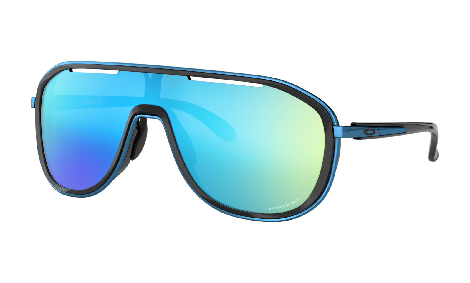 Oakley Outpace Women's - Polished Black frame with Prizm Sapphire lens