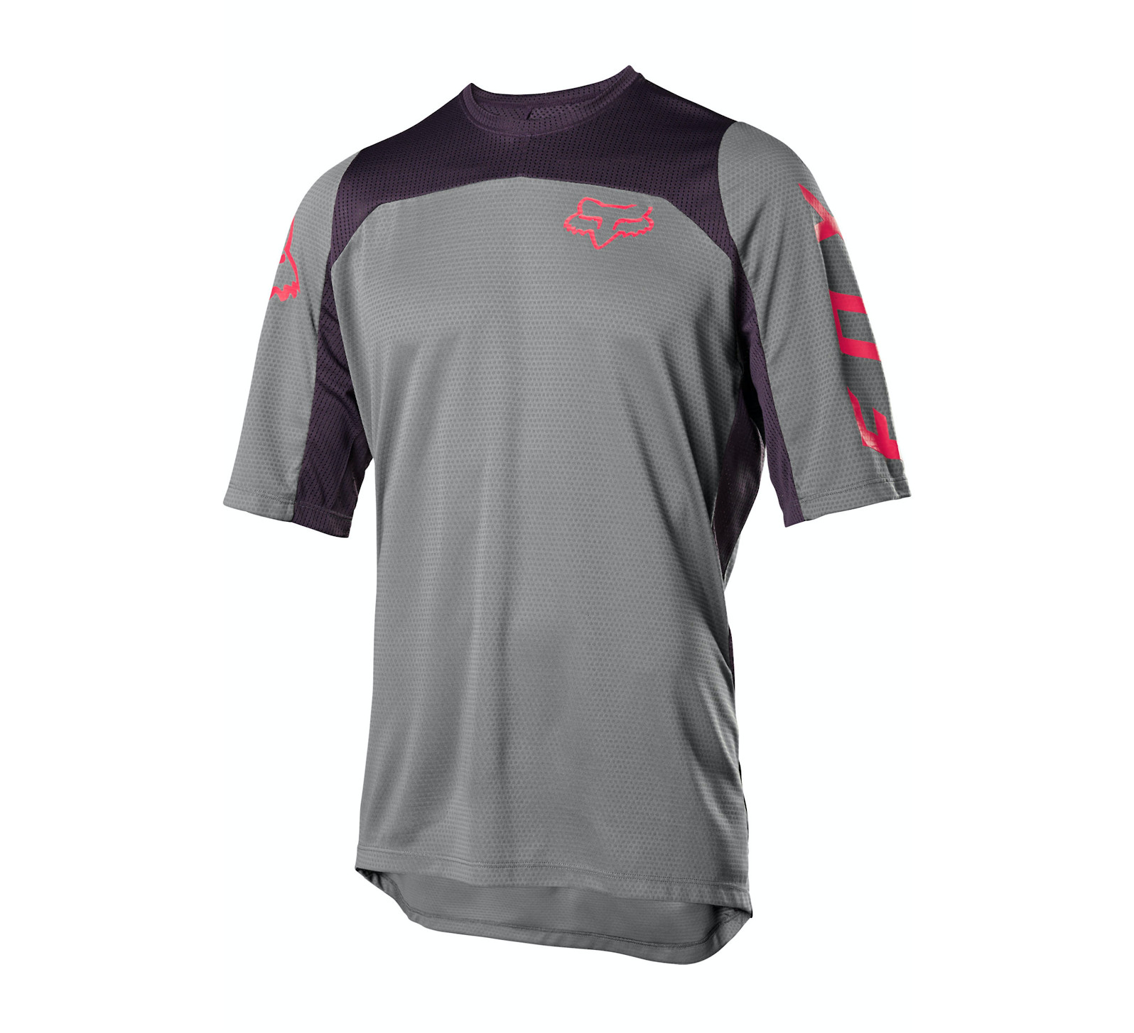 2020 Fox Racing Defend Fast Short-Sleeve Jersey (Pewter)