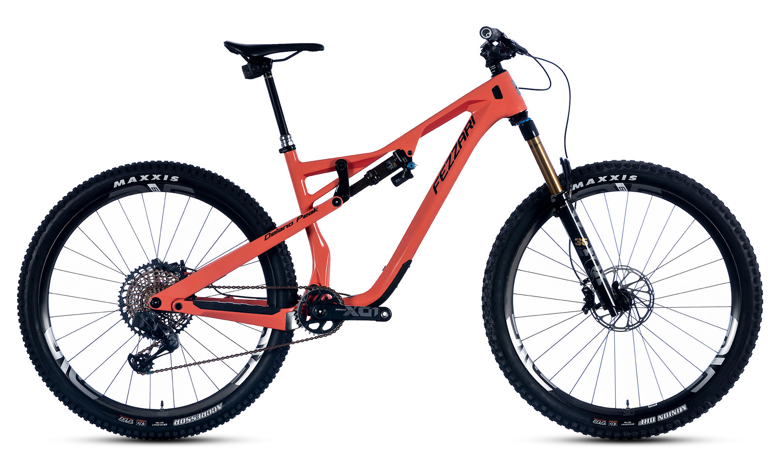 2020 Fezzari Delano Peak Team (Coral Dune; AXS build shown)