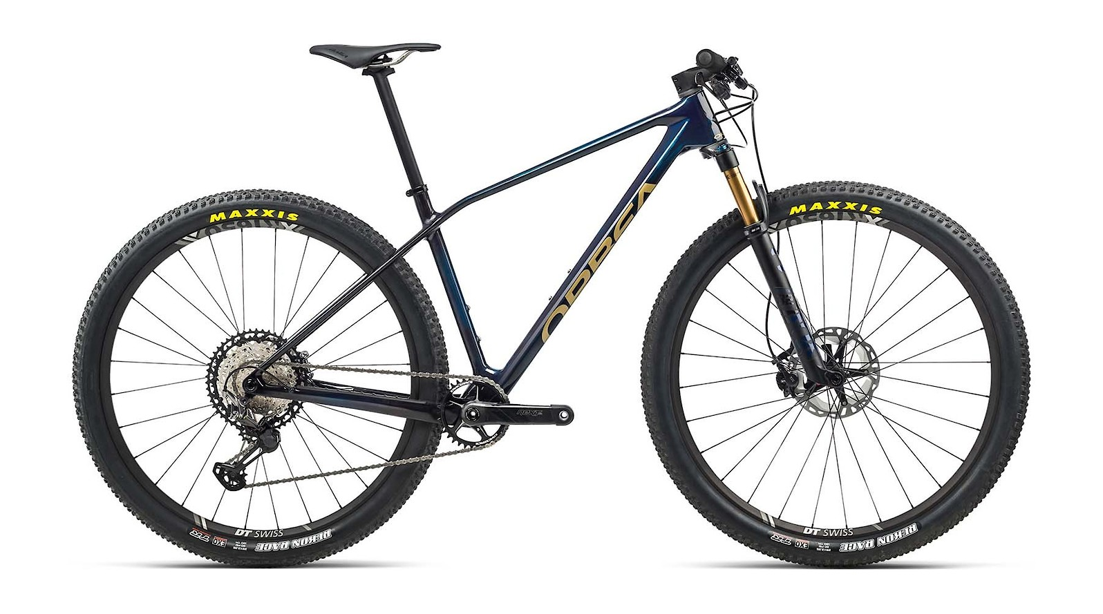 2021 Orbea Alma M Team (Carbon Blue/Gold)