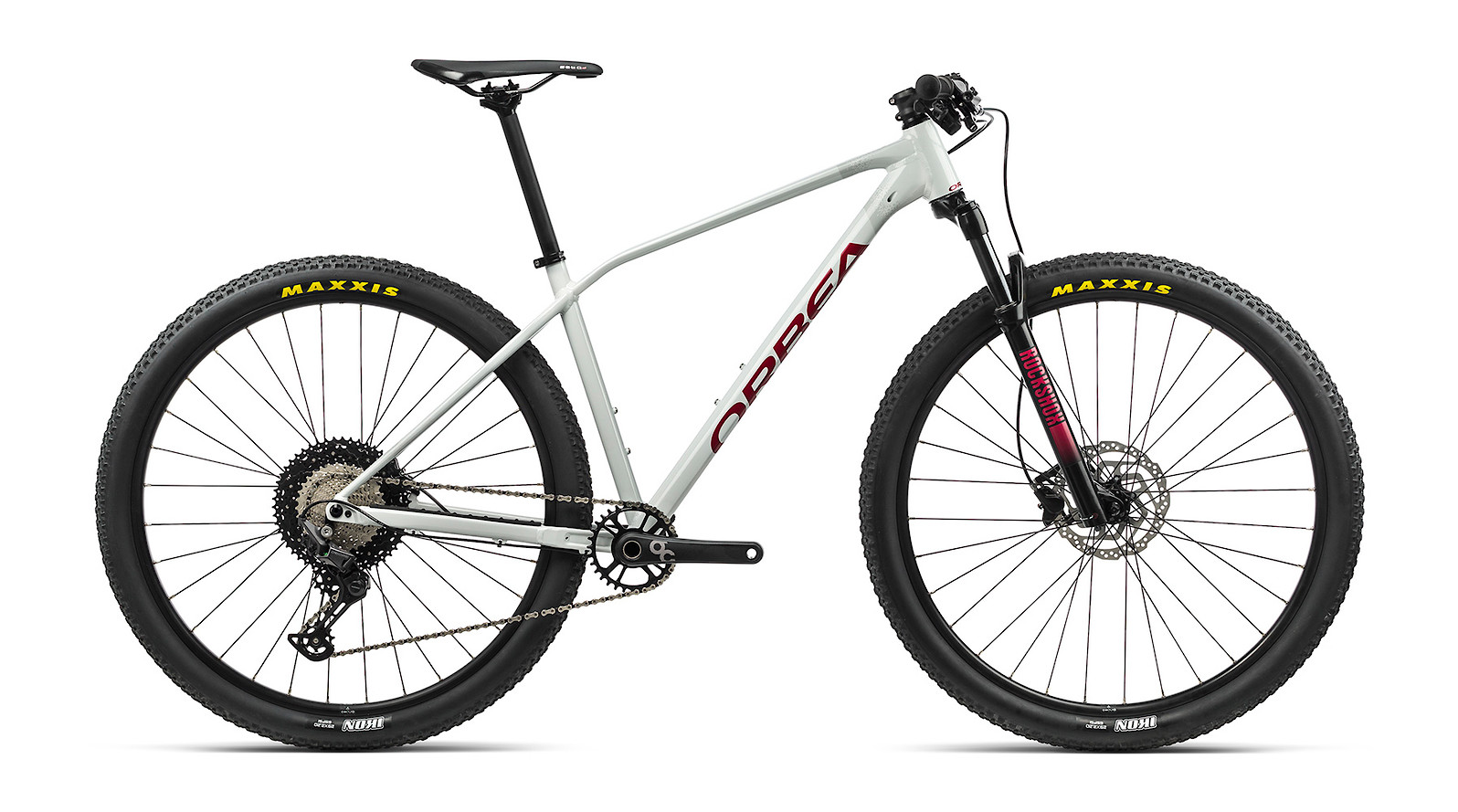 2021 Orbea Alma H30 (White Grey/Metallic Red)