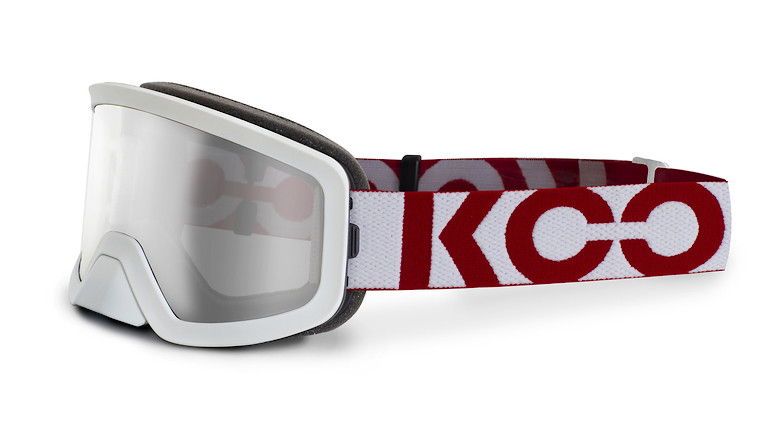 White/red with clear lens