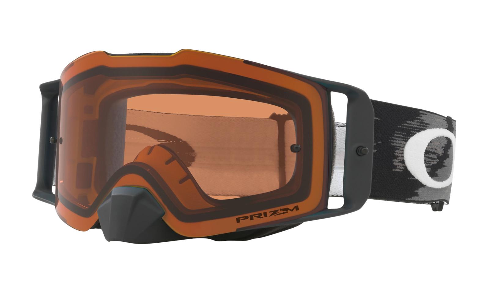 Oakley Front Line MX Goggles - Matte Black Speed frame, Prizm MX Bronze lens