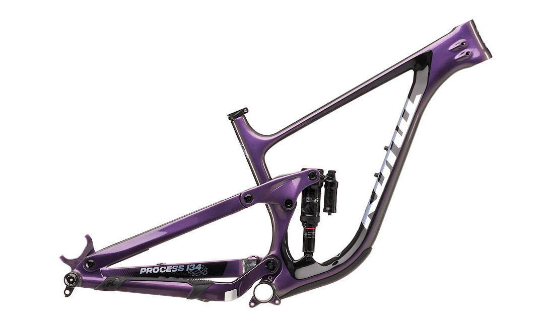 Kona Process 134 CR 29 Frame (Gloss Purple-Green Prism with Metallic Silver/Black Decals)