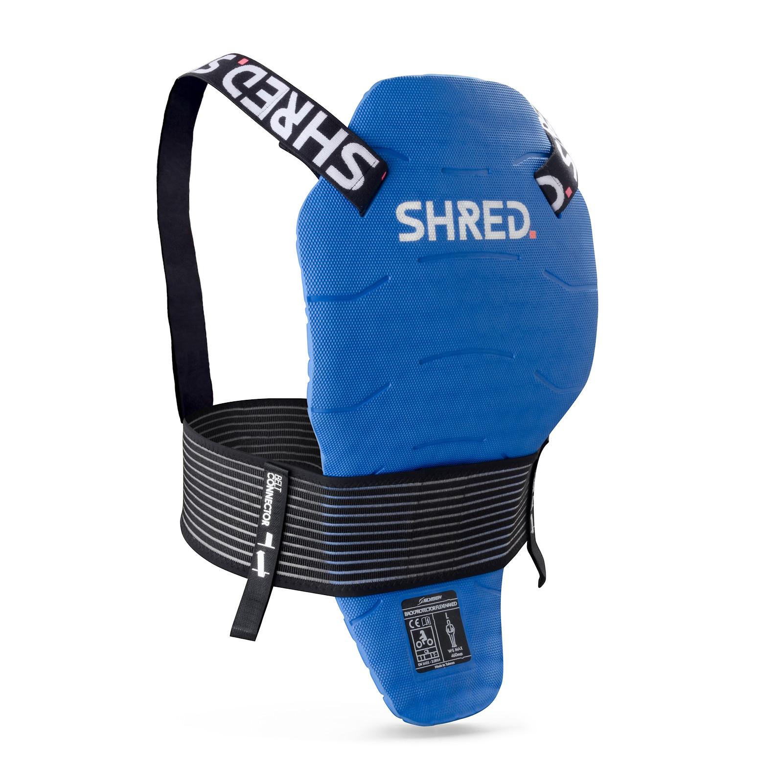 SHRED. Flexi Back Protector Naked