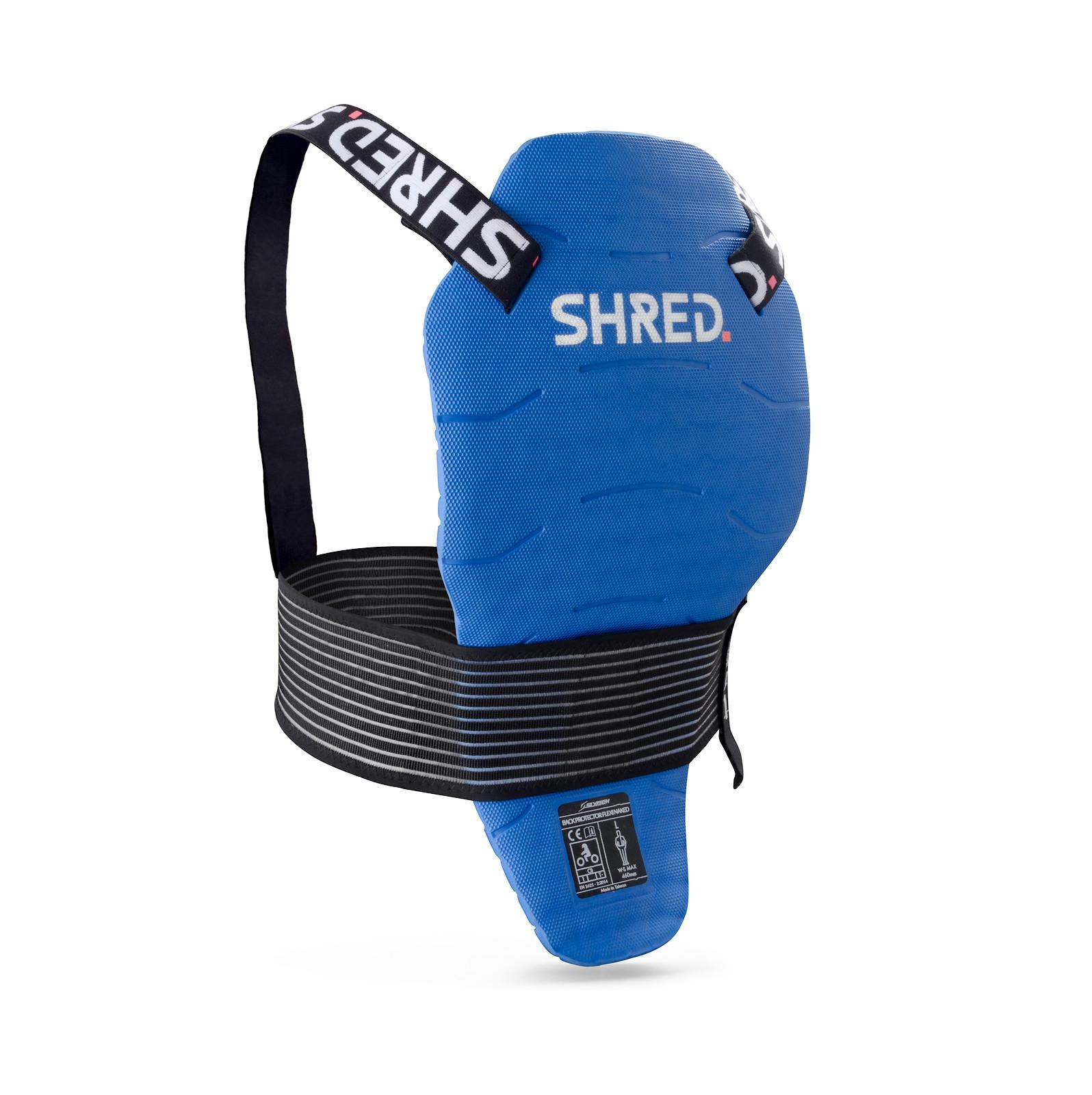 SHRED. Flexi Back Protector Naked Mini