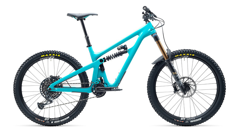 2021 Yeti SB165 T2 (Turquoise, with FOX DHX2 shock)
