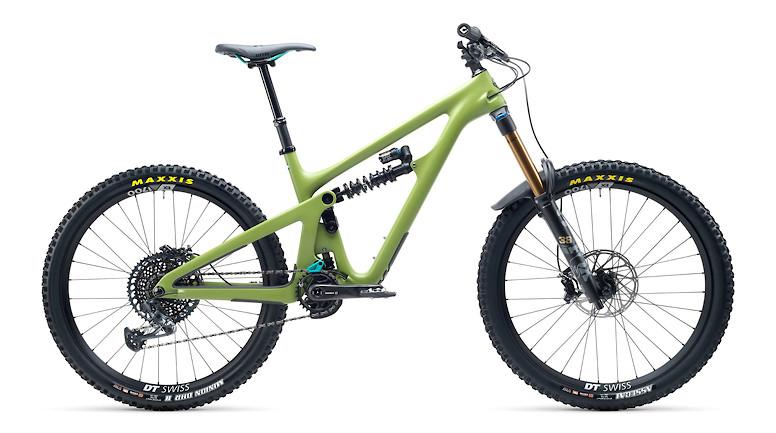 2021 Yeti SB165 T2 (Moss Green, with FOX DHX2 shock)