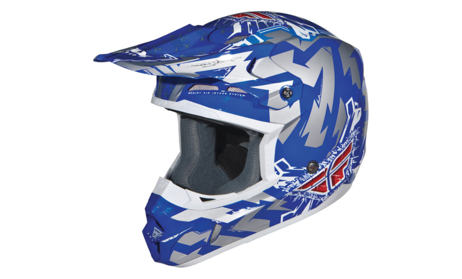 Fly Racing 2011 Kinetic Electric (blue/silver)
