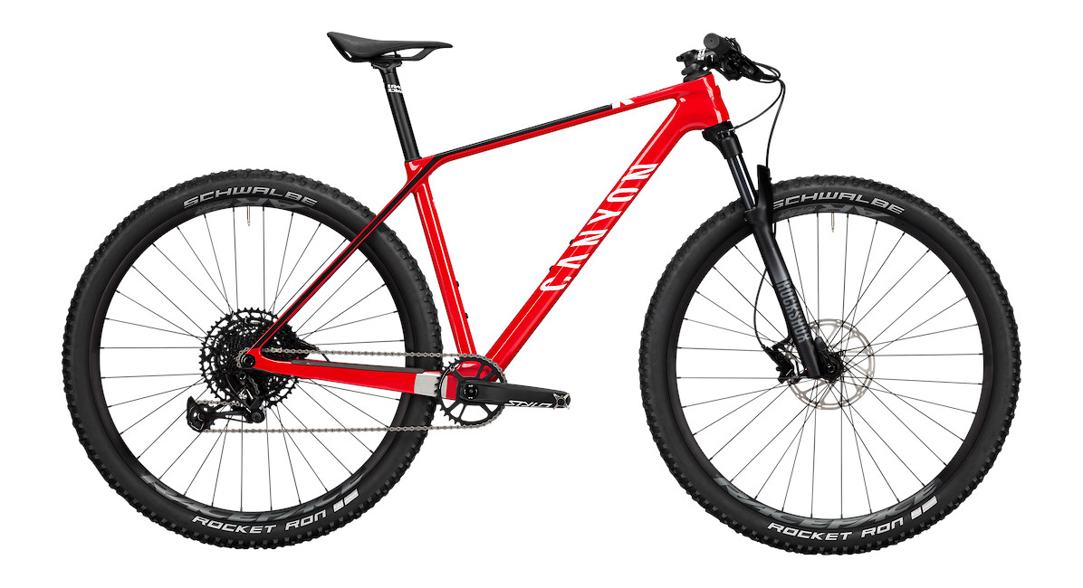 2021 Canyon Exceed CF 5 (Rapid Red)