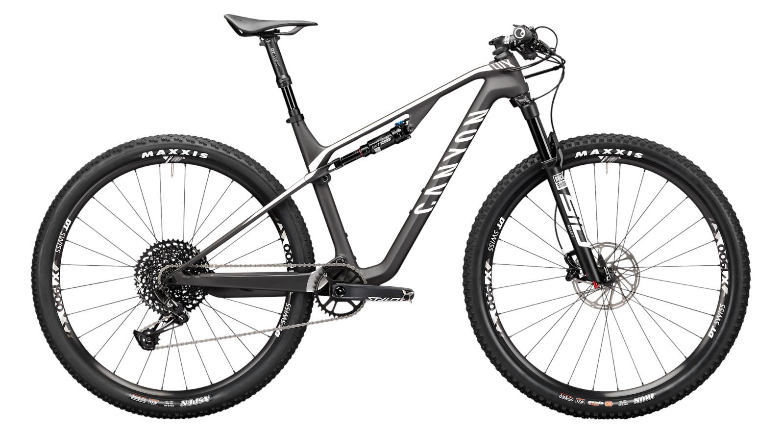 2021 Canyon Lux CF 6 (Race Black)