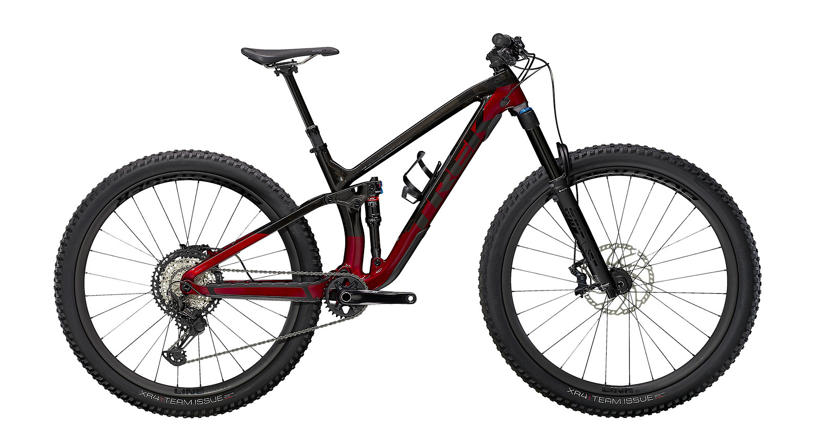 2021 Trek Fuel EX 9.8 XT (Raw Carbon/Rage Red)