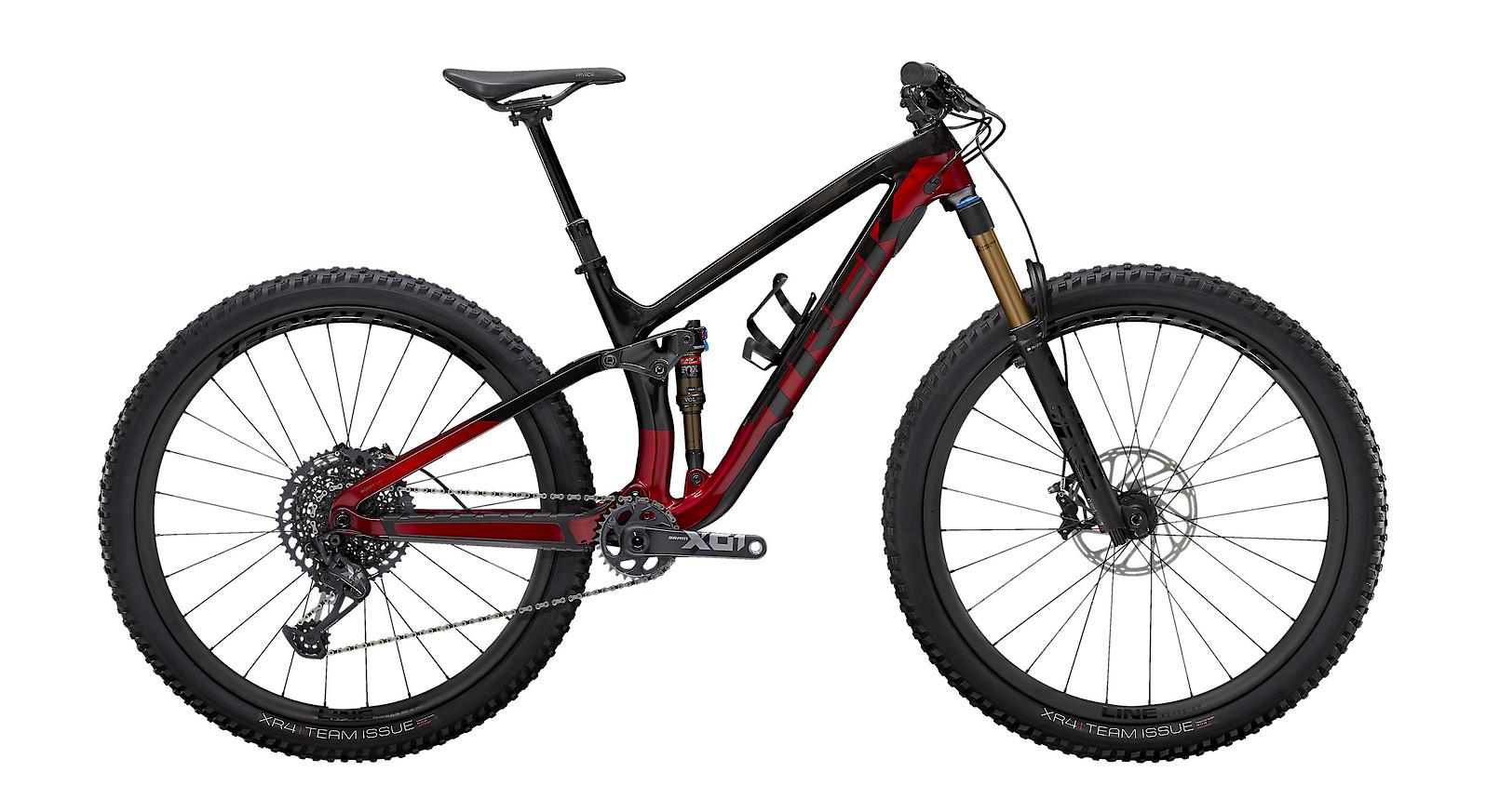 2021 Trek Fuel EX 9.9 X01 (Raw Carbon/Rage Red)