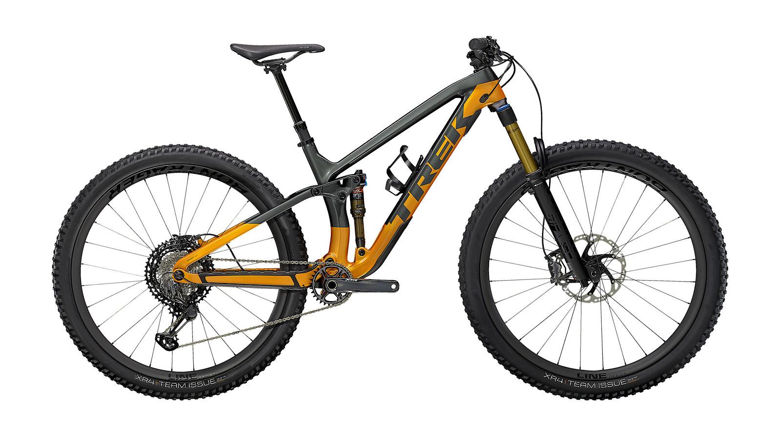 2021 Trek Fuel EX 9.9 XTR (Lithium Grey/Factory Orange)