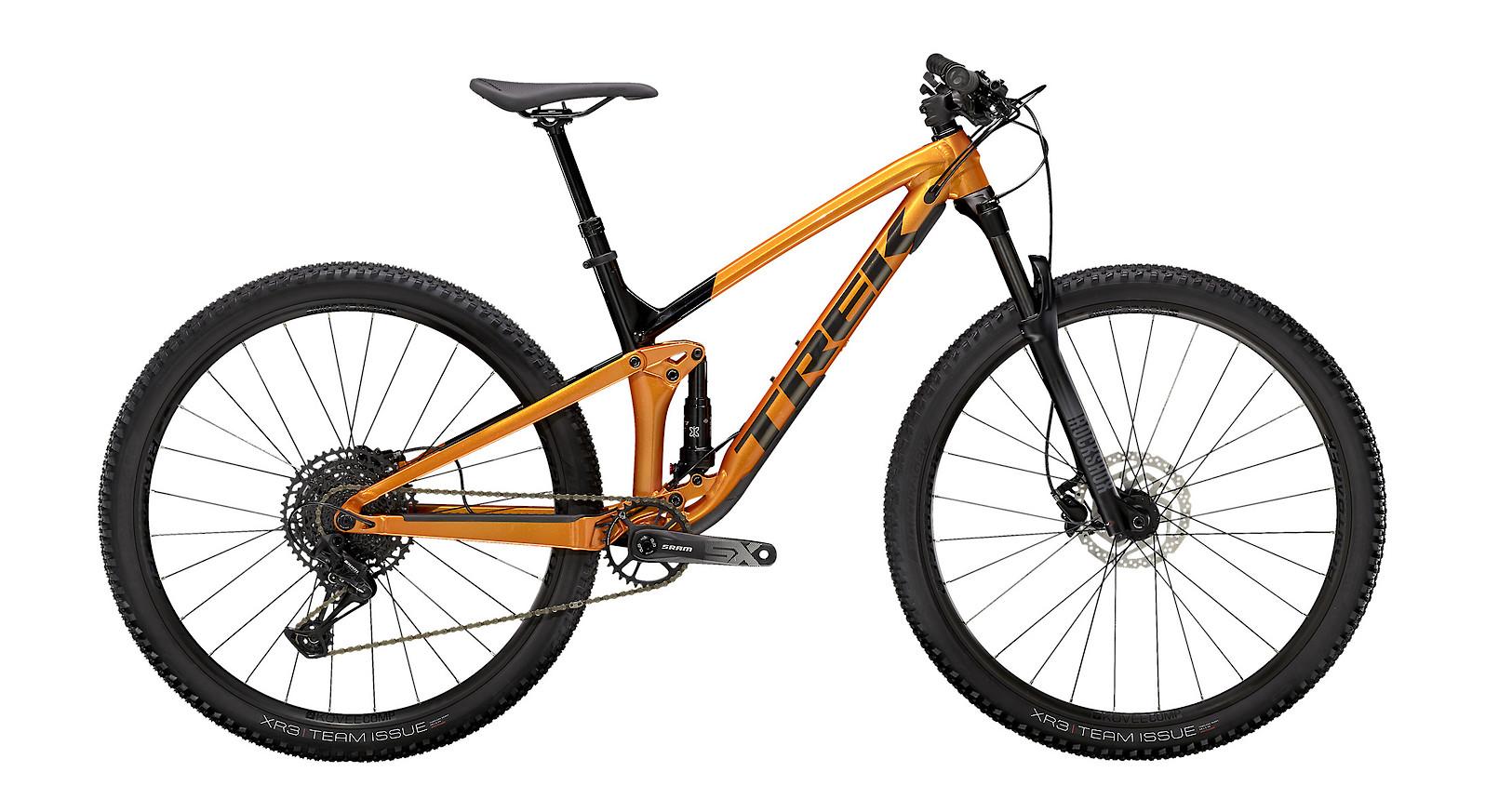 2021 Trek Top Fuel 7 SX (Factory Orange/Trek Black)