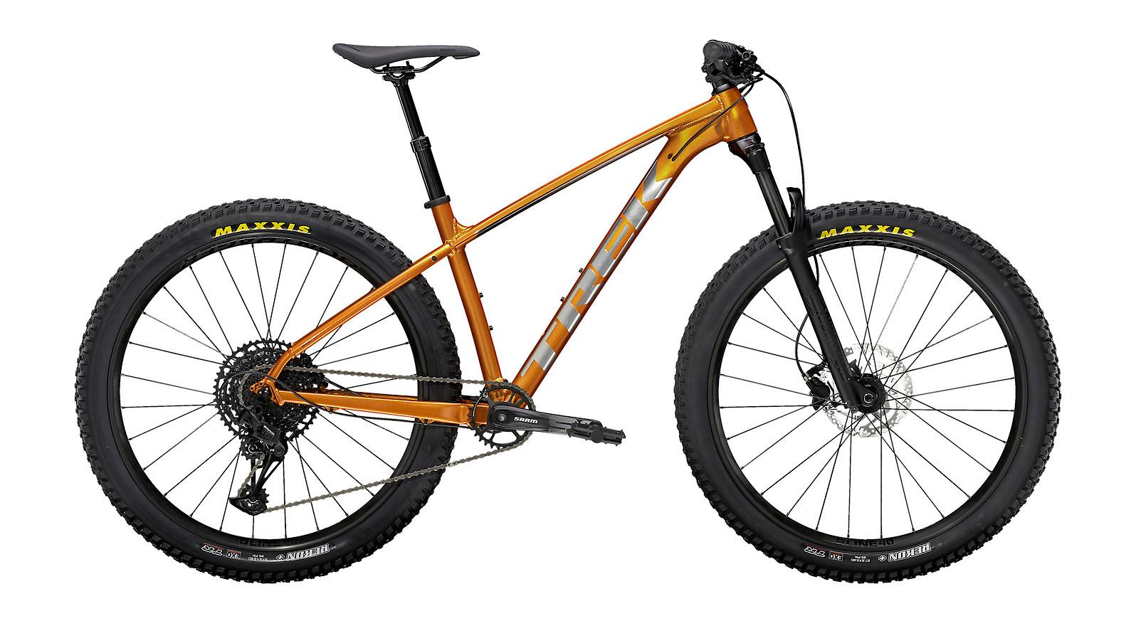 2021 Trek Roscoe 7 (Factory Orange/Metallic Gunmetal)