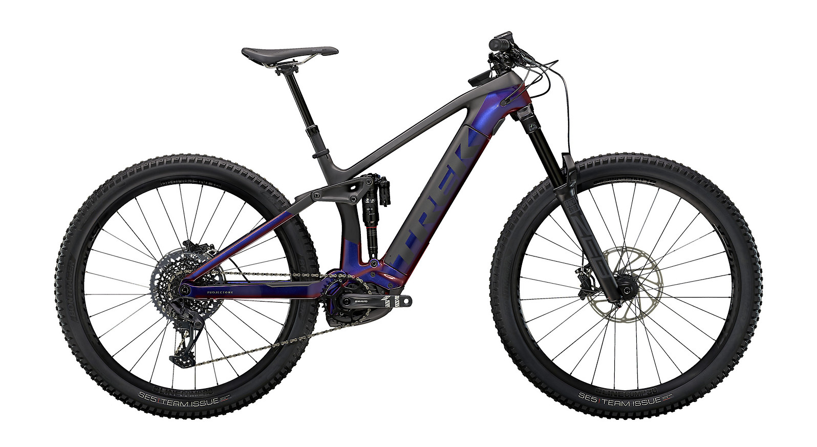 2021 Trek Rail 9.8 (Gloss Purple Phaze/Matte Raw Carbon)