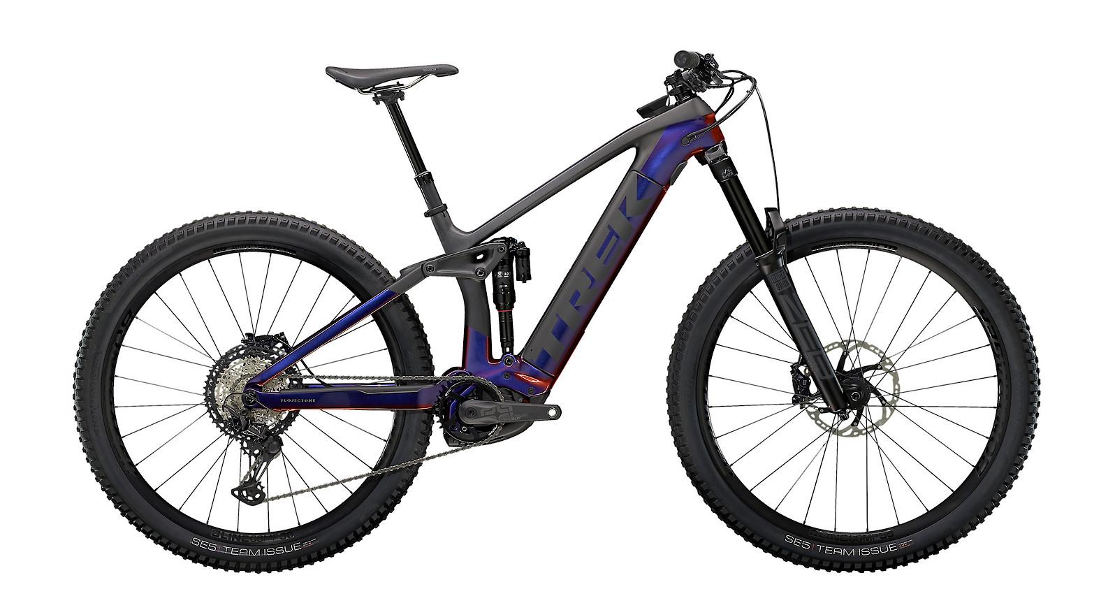 2021 Trek Rail 9.8 XT (Gloss Purple Phaze/Matte Raw Carbon)