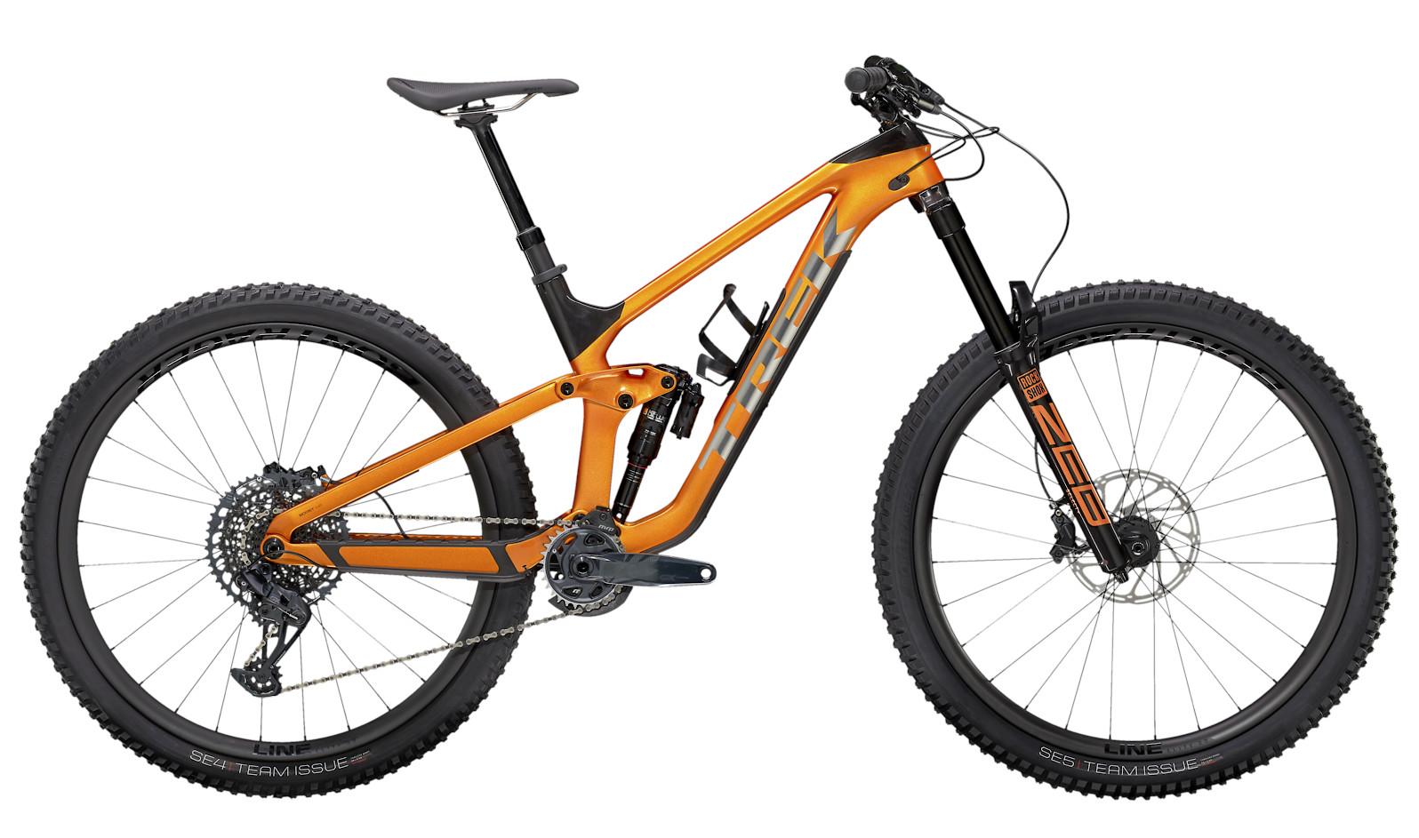 2021 Trek Slash 9.8 GX (Factory Orange/Carbon Smoke)
