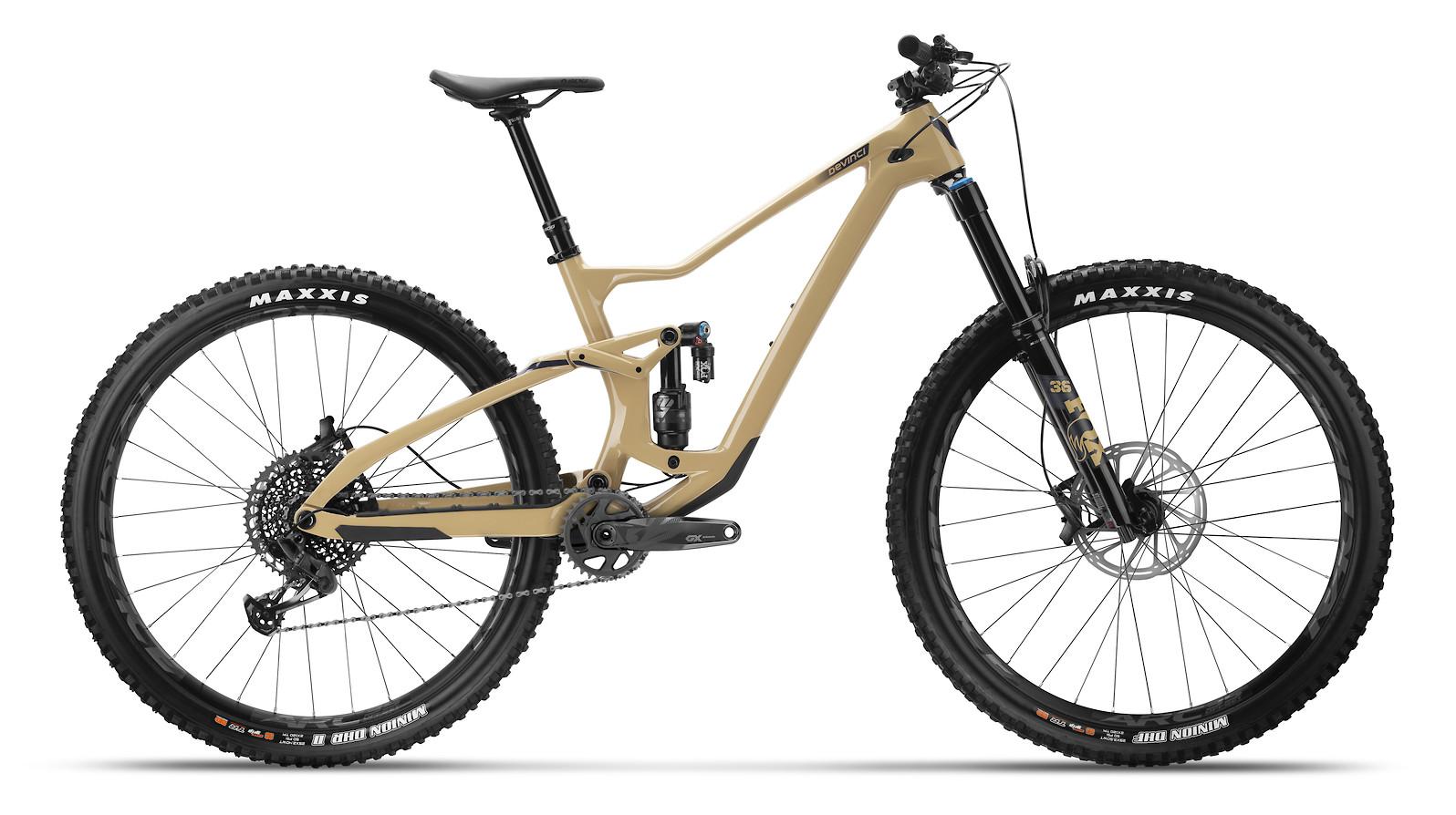2021 Devinci Troy Carbon GX 12-Speed (Full Sand)