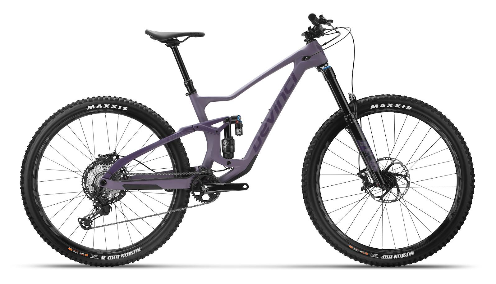 2021 Devinci Troy Carbon XT LTD (Purple Ghost)