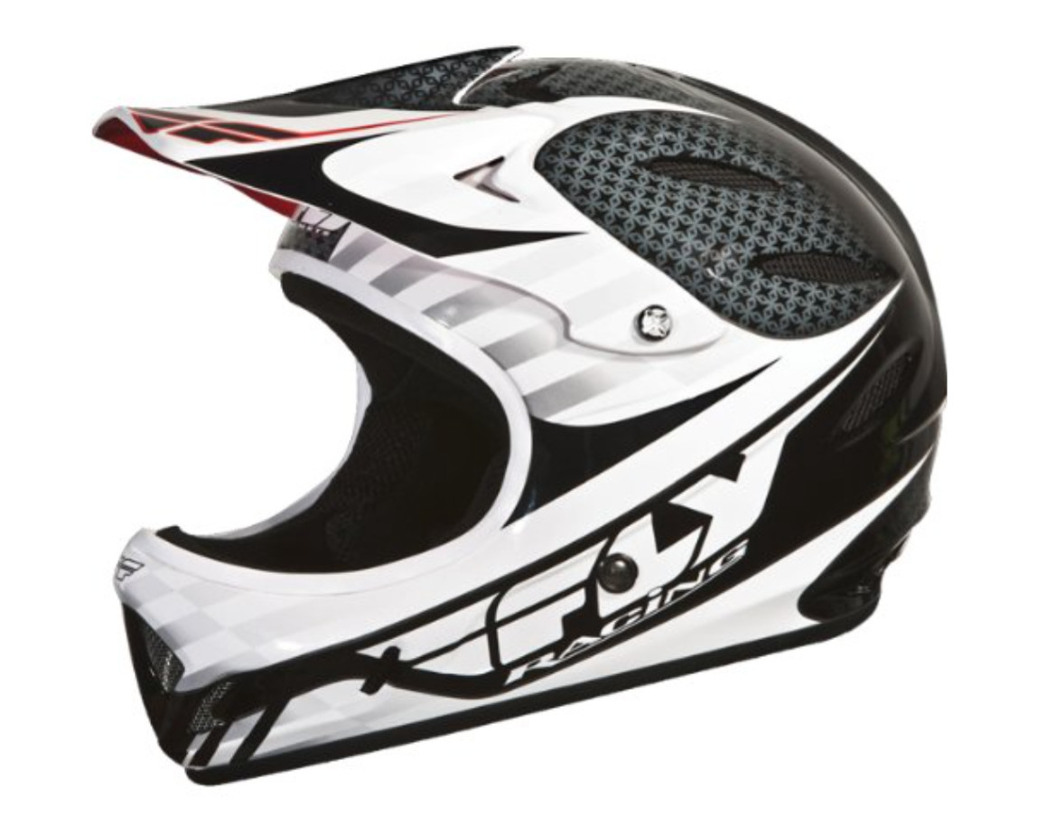 Fly Racing Lancer Helmet (2012 black/white)