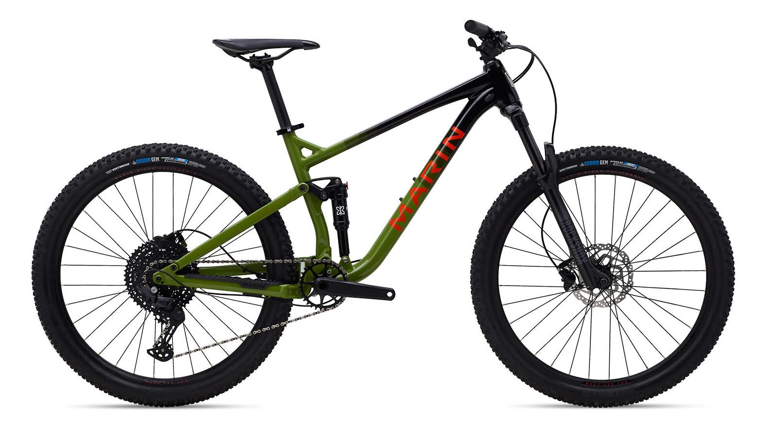 2021 Marin Rift Zone 27.5 1 (Gloss Black/Green/Orange)