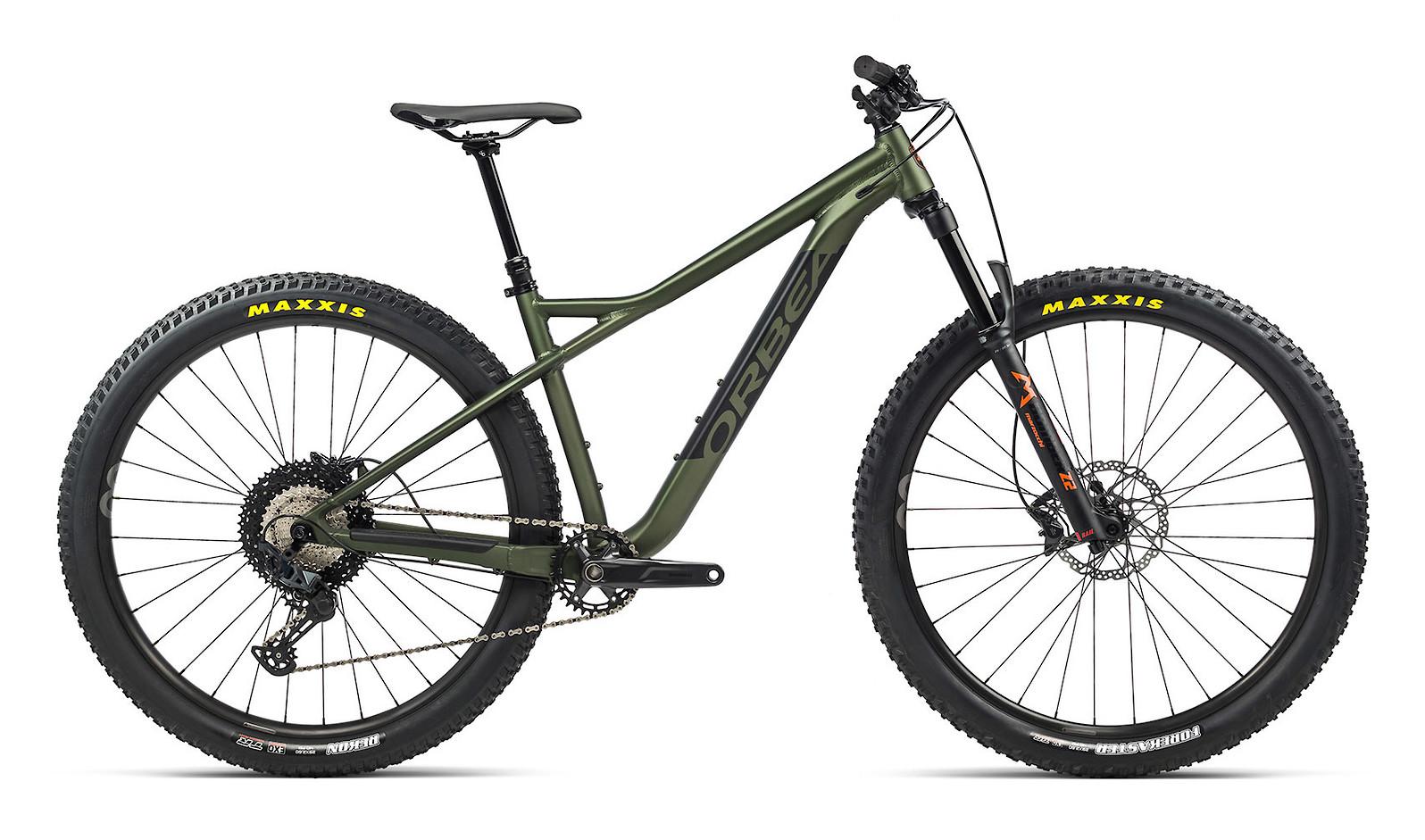 2021 Orbea Laufey H10 (Green/Orange)
