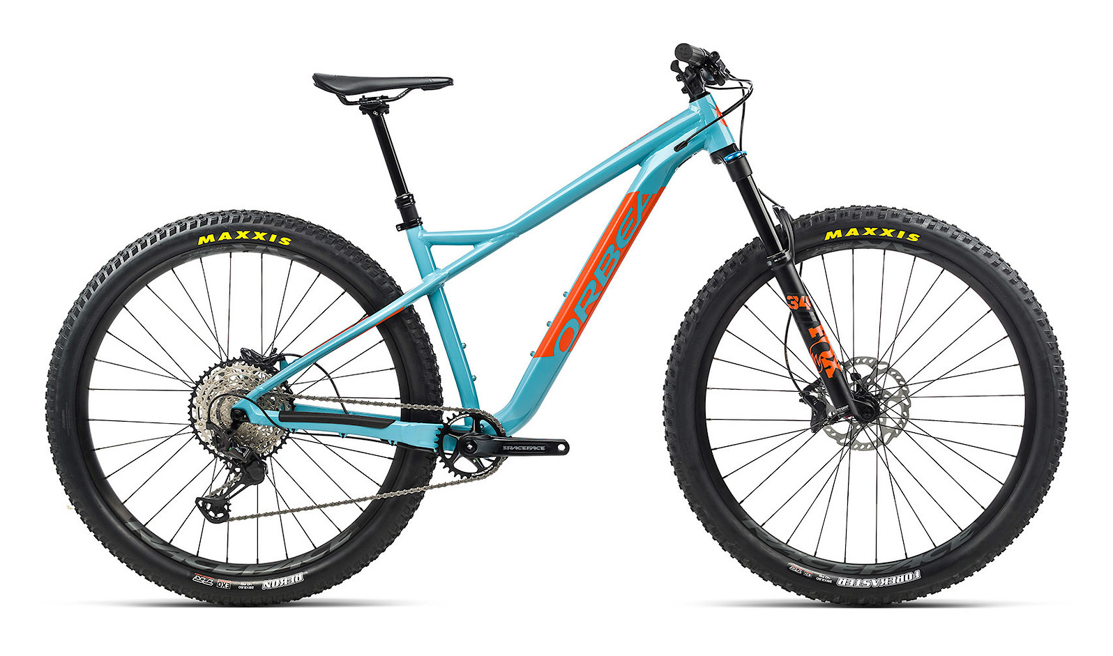 2021 Orbea Laufey H-LTD (Blue Gulf/Orange)