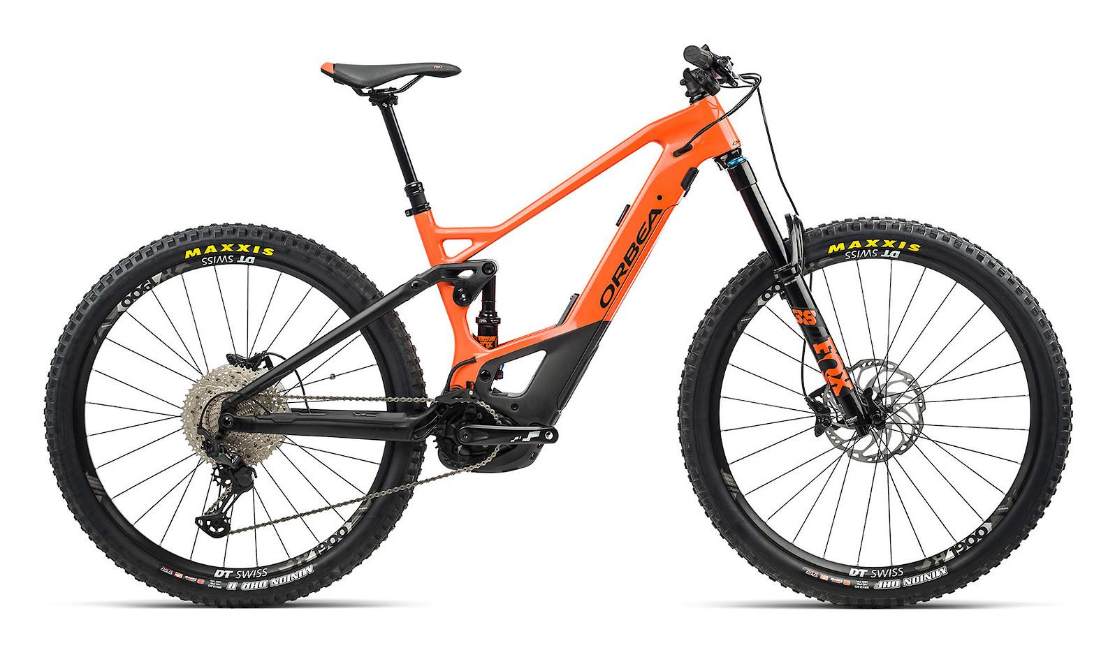 2021 Orbea Wild FS M20 (Orange/Black)