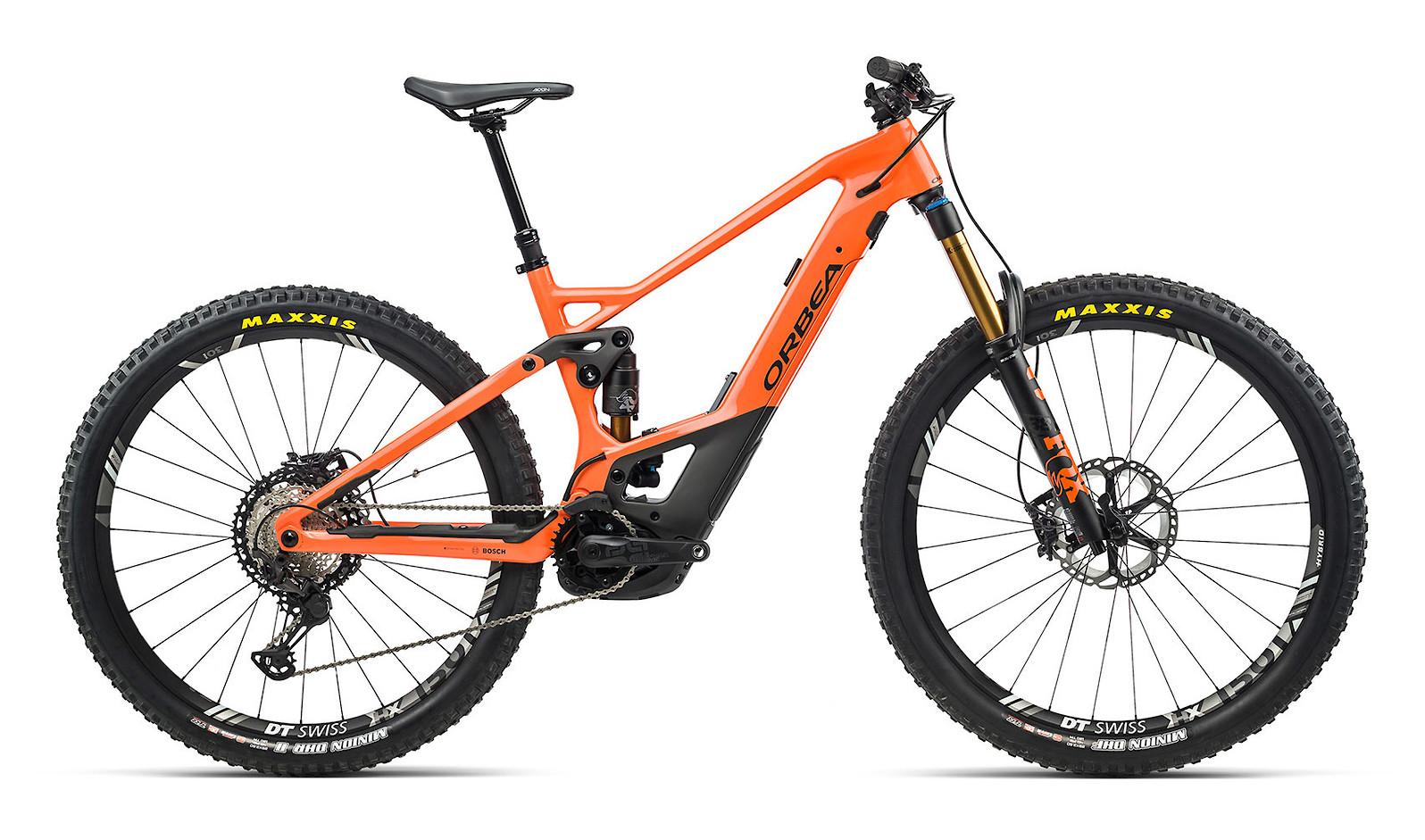 2021 Orbea Wild FS M-Team (Orange/Black)