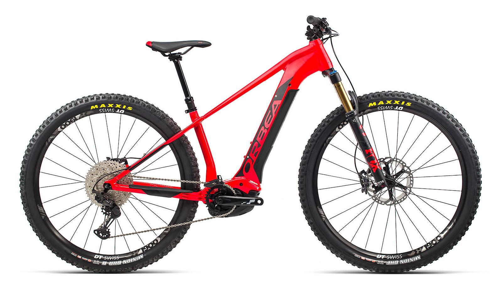 2021 Orbea Wild HT 10 (Bright Red/Black)