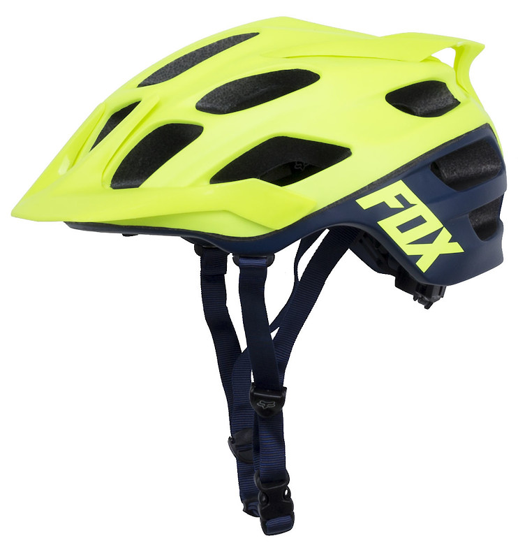 Fox Flux - Creo Flo Yellow (side)