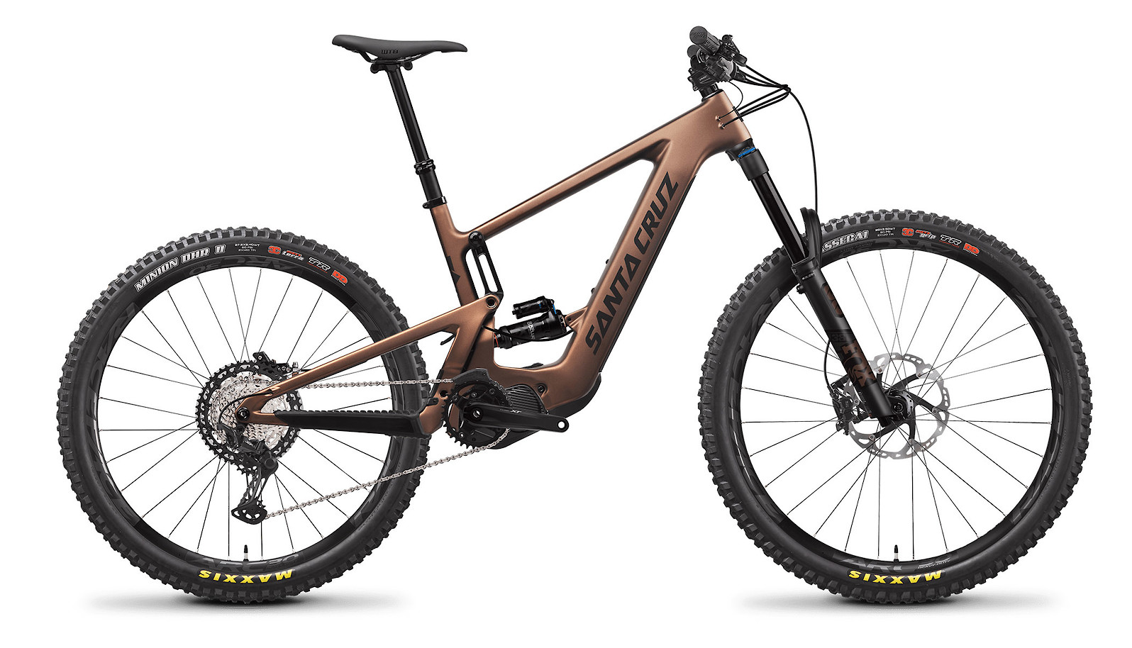 2021 Santa Cruz Bullit XT Air Carbon CC MX (Matte Copper/Black)