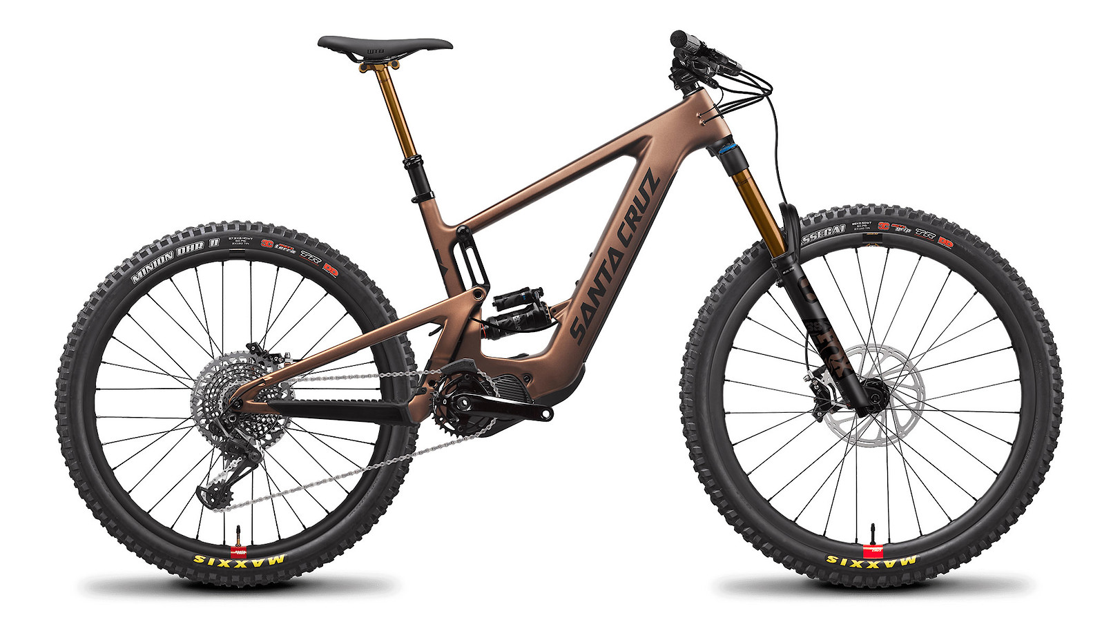 2021 Santa Cruz Bullit X01 Air Carbon CC MX (Matte Copper/Black)