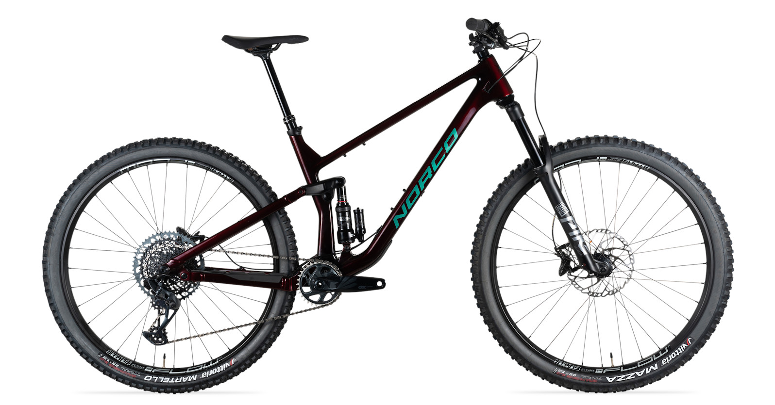 2021 Norco Optic C2 SRAM (Red/Green)