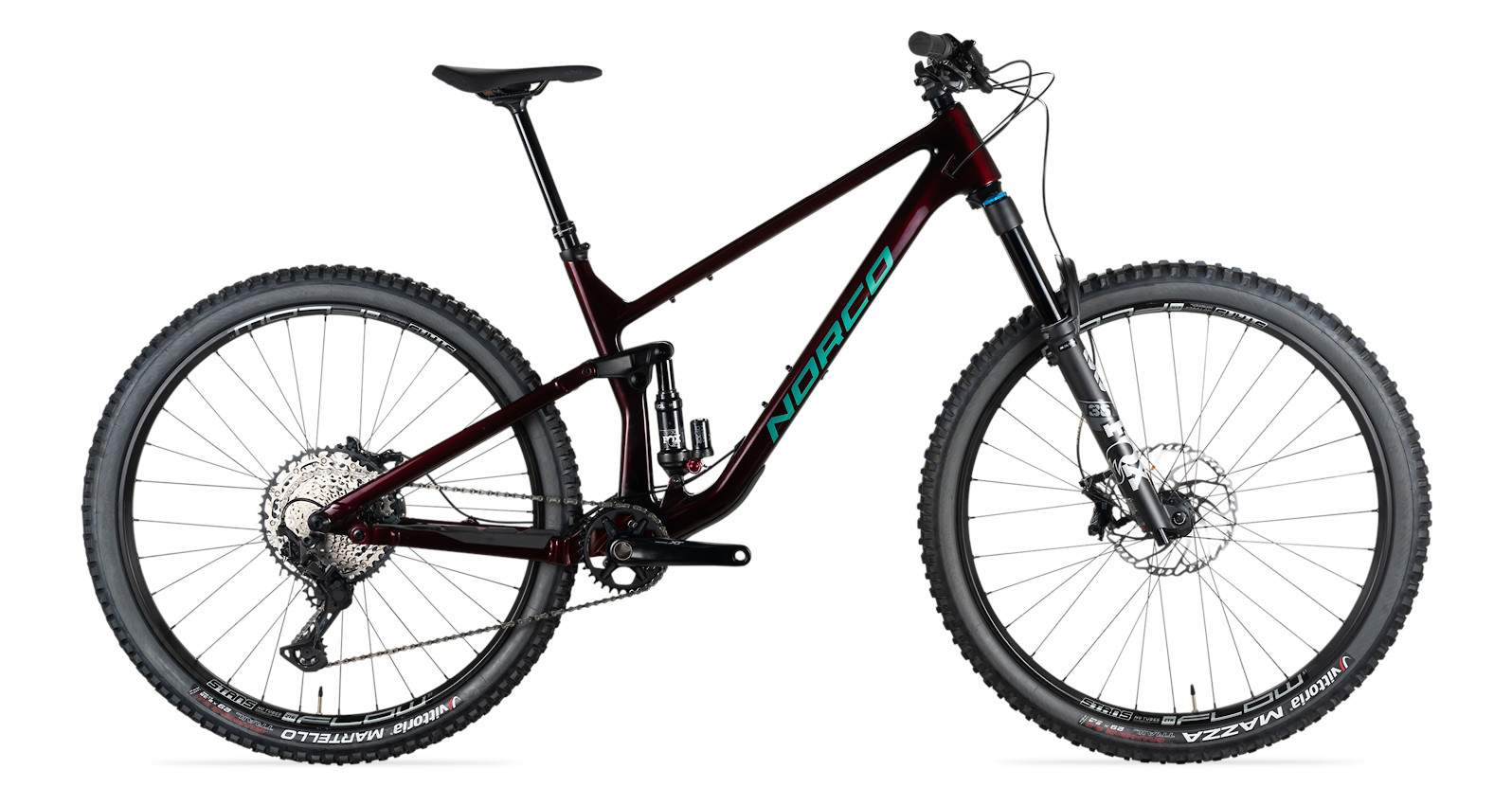 2021 Norco Optic C2 Shimano (Red/Green)