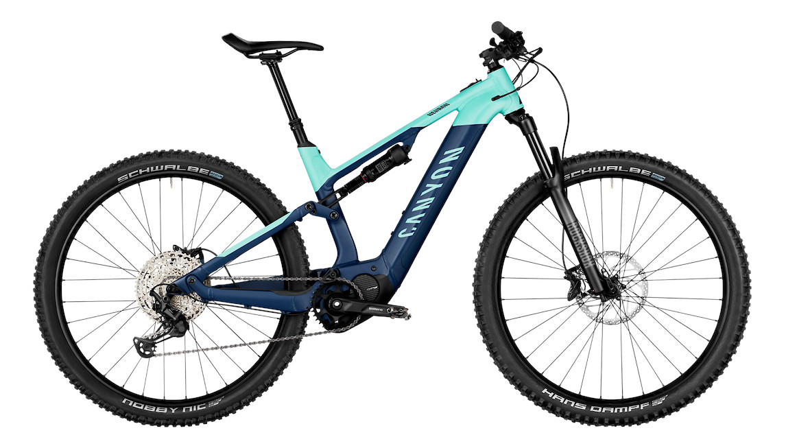 2021 Canyon Neuron/ON 8 (Wire Blue)