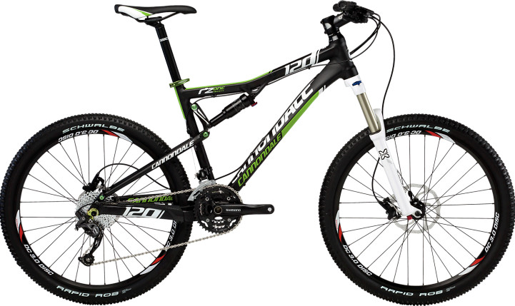 2013 Cannondale RZ One-Twenty RZ120 2 (black)