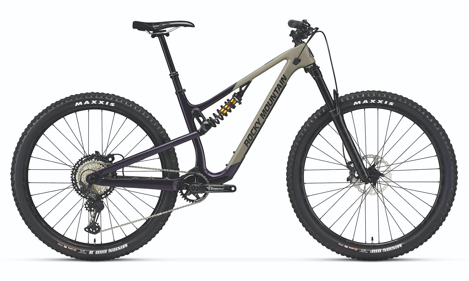2021 Rocky Mountain Instinct 29 Carbon 70 Coil (Violet Hills/Enter Sandman/Black Dog)