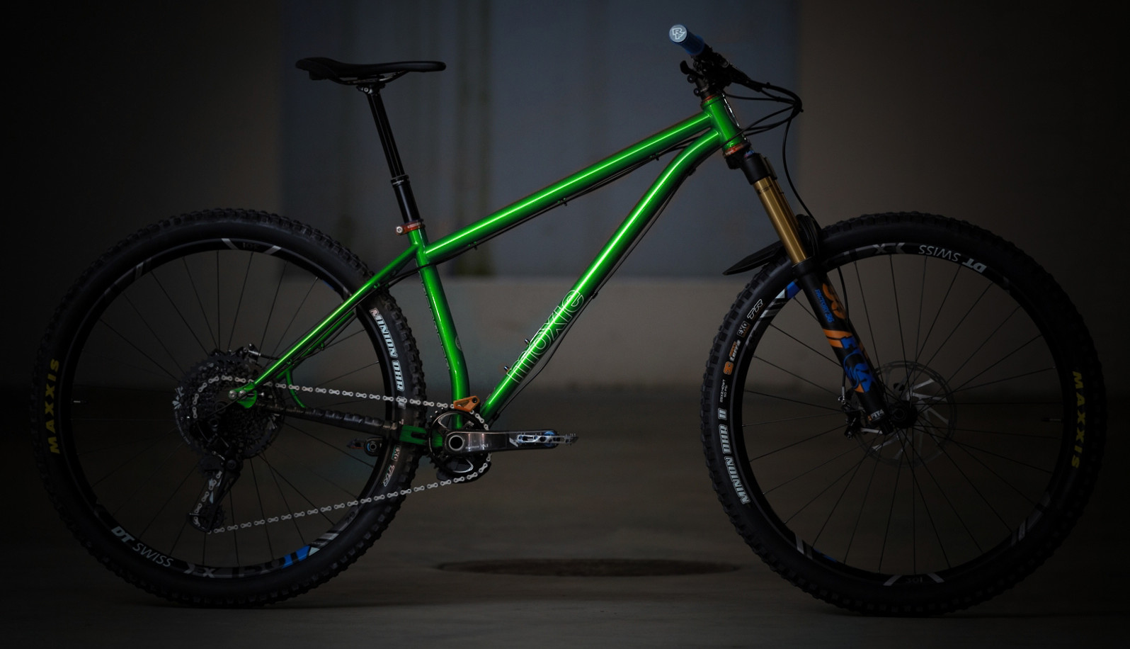 2020 Pipedream Moxie MX3 (Vivid Emerald, custom build shown)