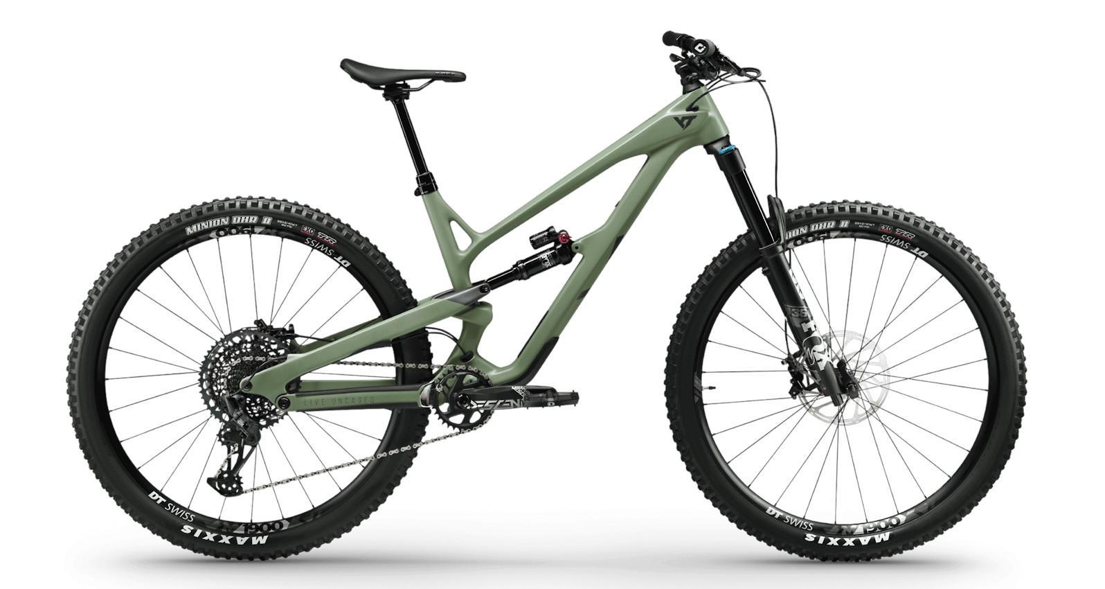 2021 YT Jeffsy Core 3 29 (Assault Green)