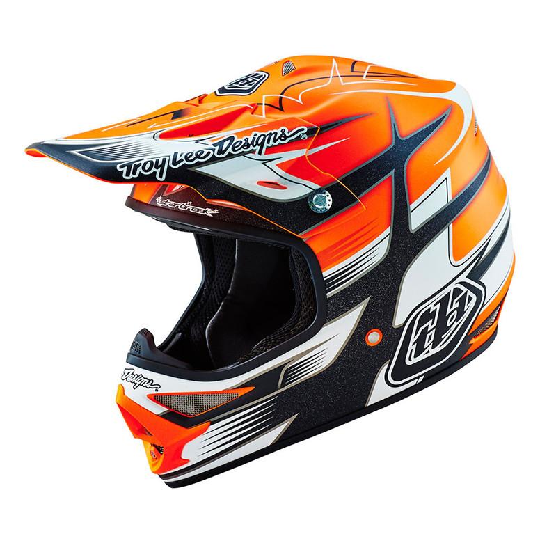 TLD Air Helmet - Starbreak Orange
