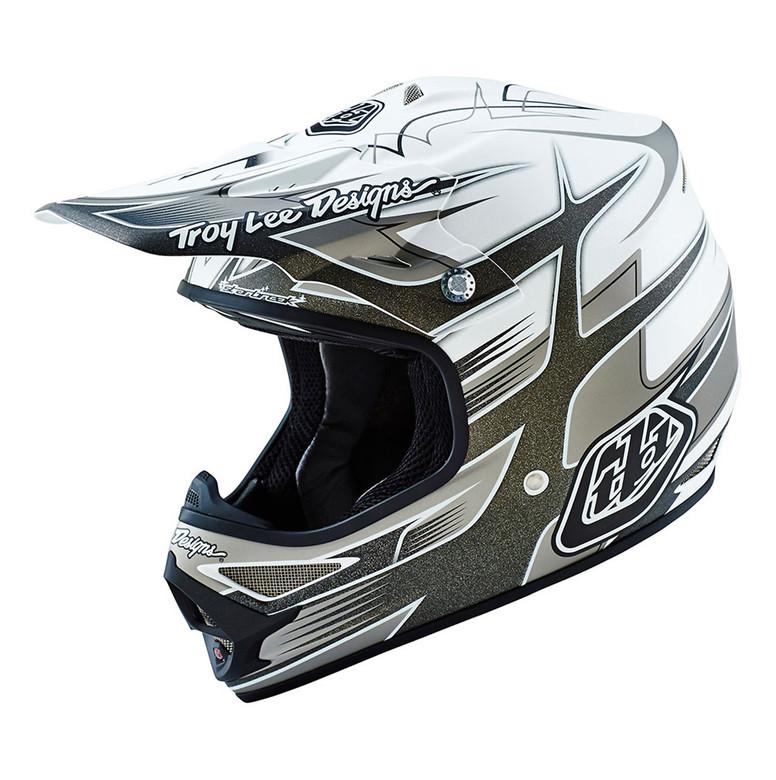 TLD Air Helmet - Starbreak White