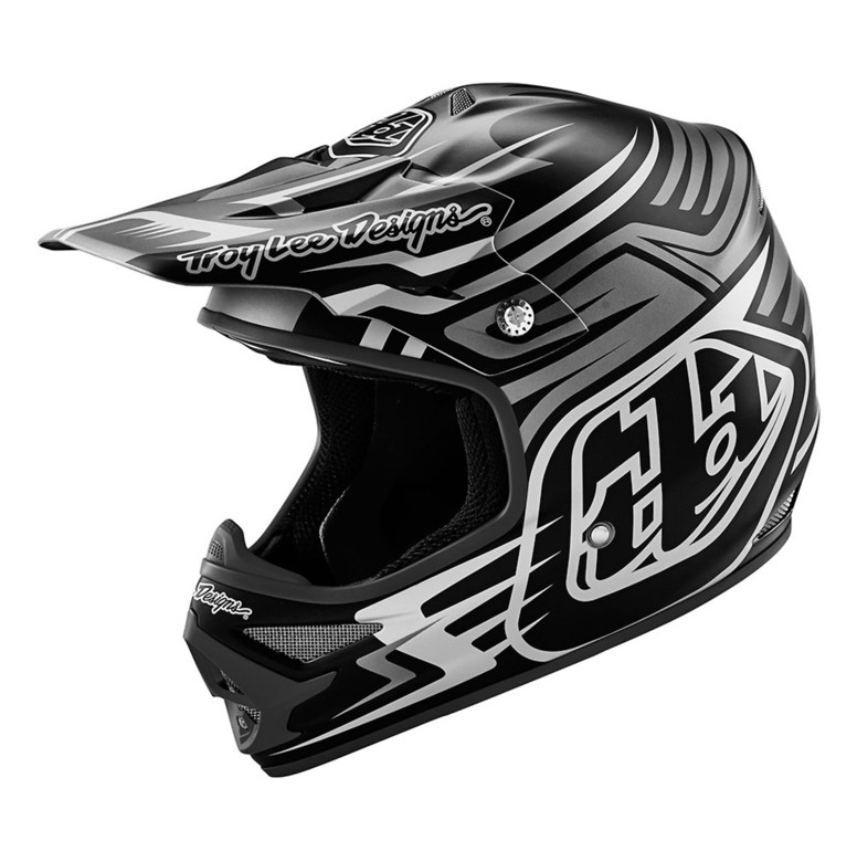 TLD Air Helmet - Scratch Black